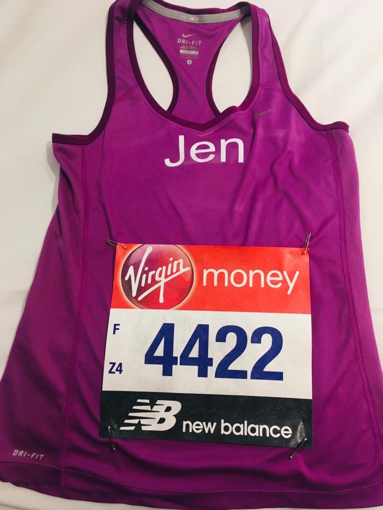 Jen Bayford Marathon