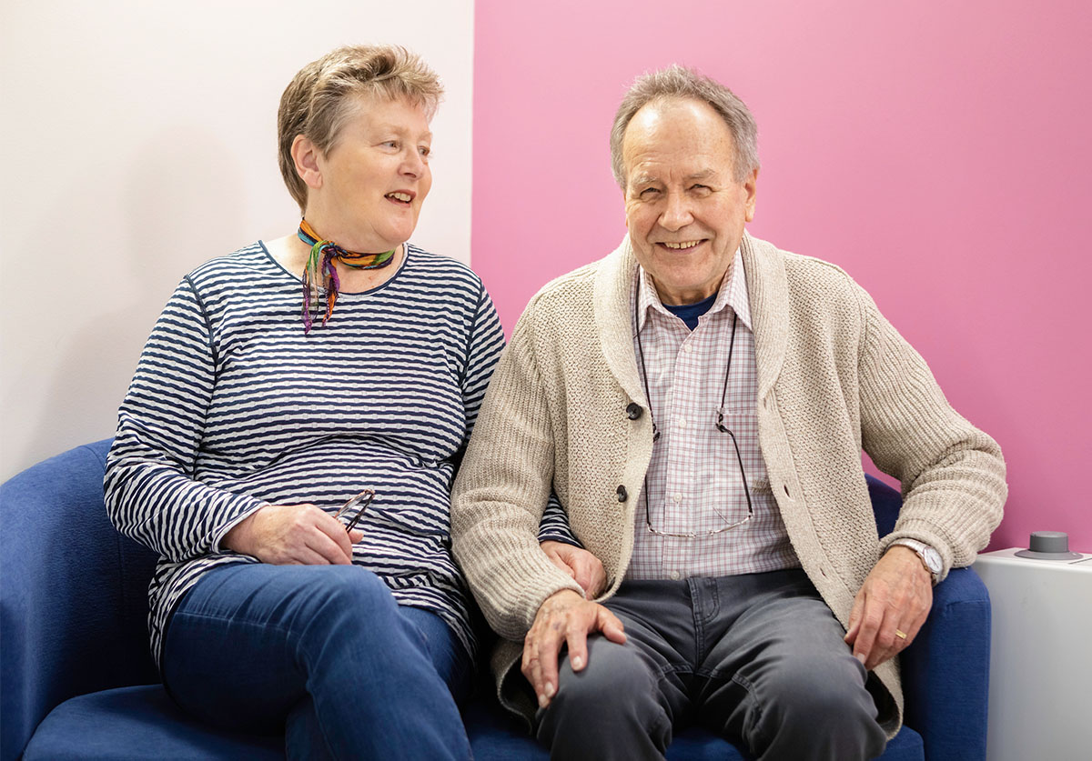 Dementia support announced as charity partner
