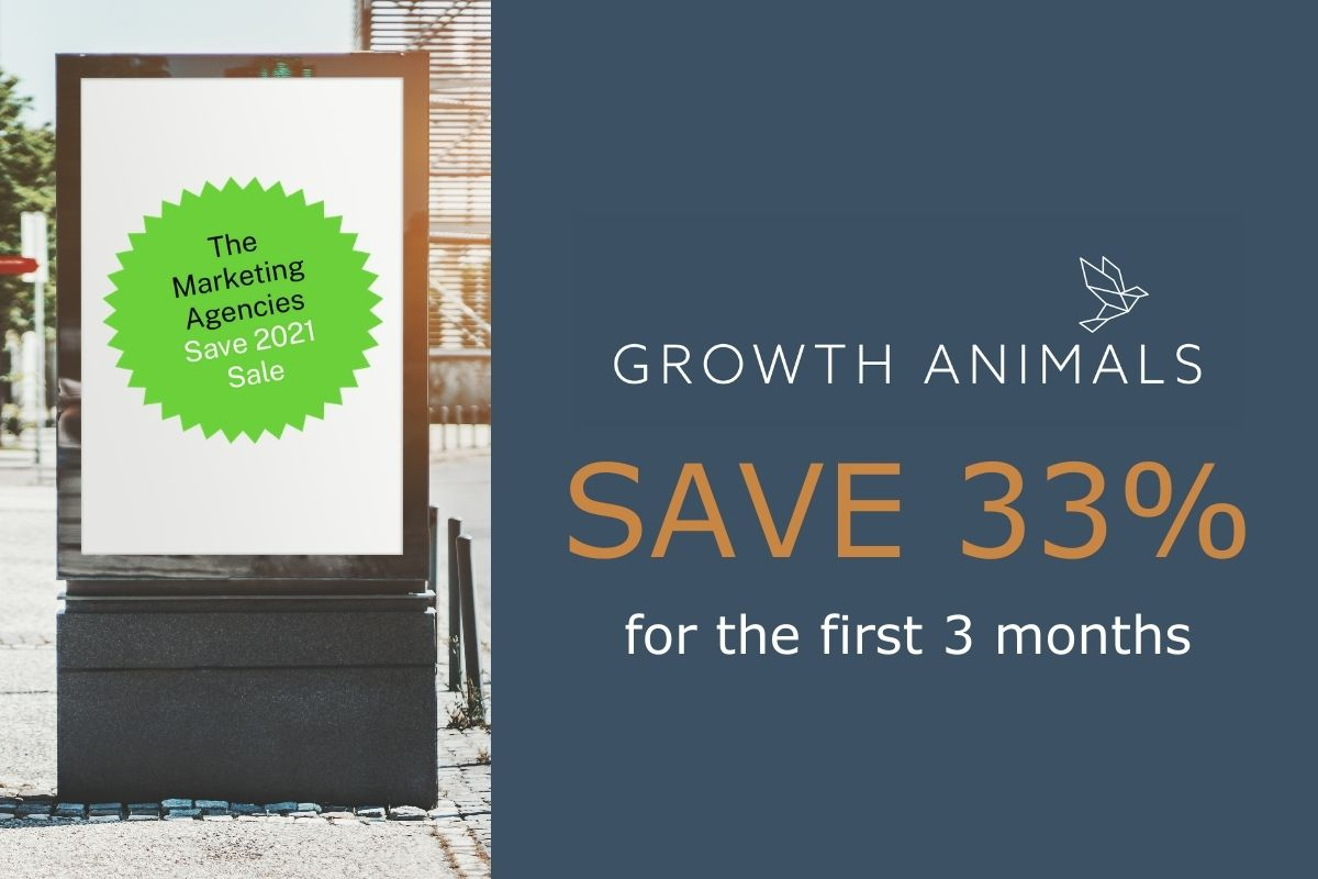 Growth Animals Save 2021 Sale