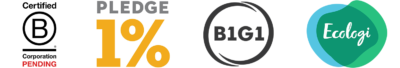 Website Footer B Corp Ecologi B1G1